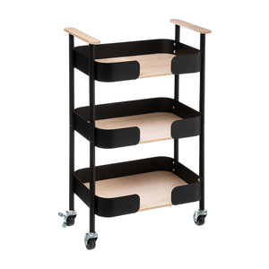 Opbergtrolley 3 niveaus Five®