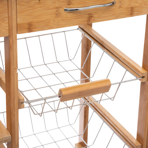 Keukentrolley hout Five®