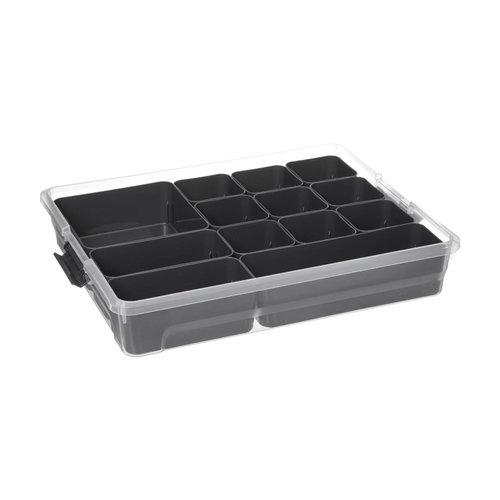 Opbergbox met uitneembare bakjes Five®   6 verschillende maten