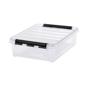 Opbergboxen met deksel (8 liter) 40 x 30 x 11 cm Orthex - SmartStore Classic