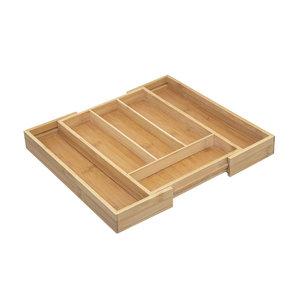 Bamboe bestekbak uitschuifbaar Five®
