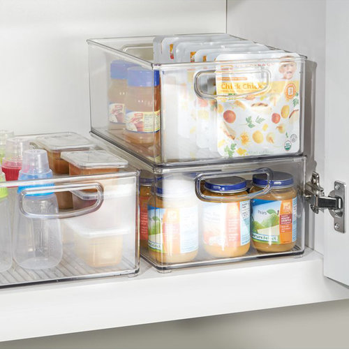 Opbergbakjes keukenkast stapelbaar iDesign - Kitchen Binz