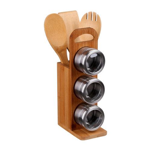 Kruiden en keukengereihouder incl. accessoires Five®