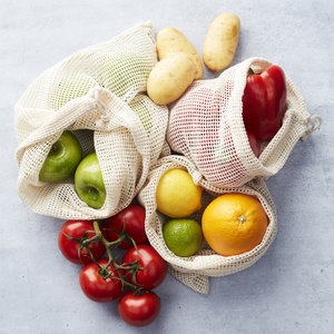 Herbruikbaar groente- en fruitzakje Point-Virgule