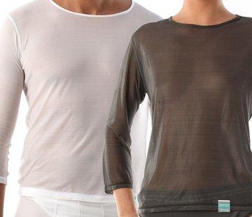 T-Shirt lang ronde hals