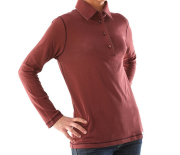 Polo Shirt Frau Neurodermitis