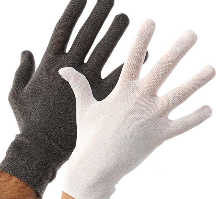 Verbandhandschoenen eczeem voor handeczeem in de nacht