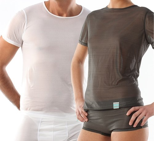 T-shirt eczema manica corta, scollo tondo