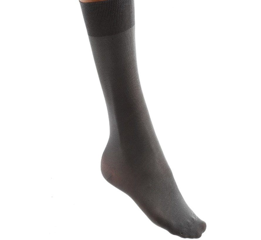 Calze al ginocchio eczema antracite