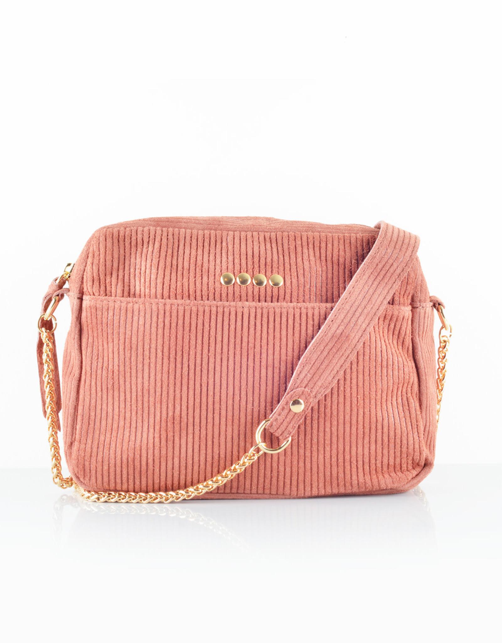 Rib bag gold