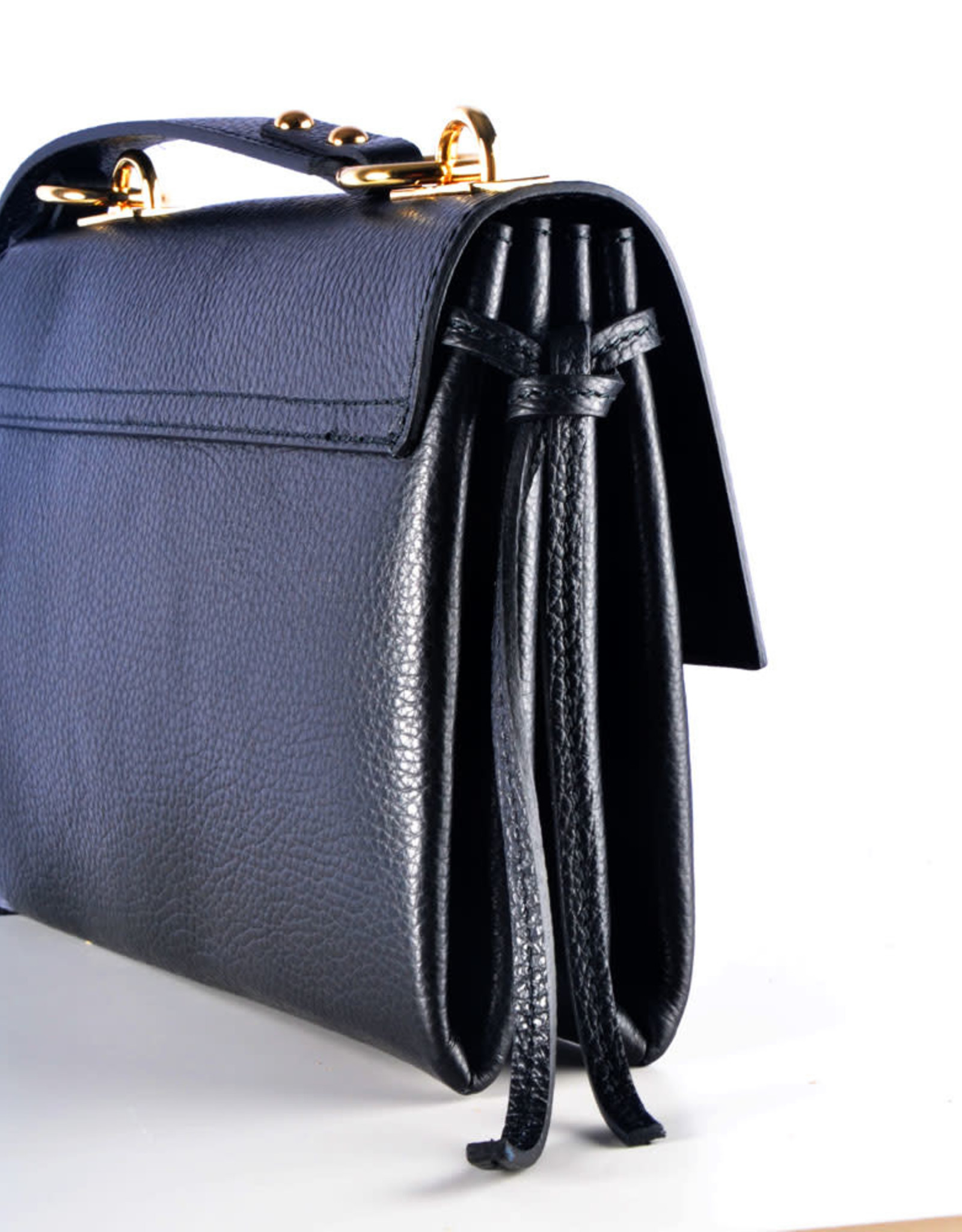 Black stone bag