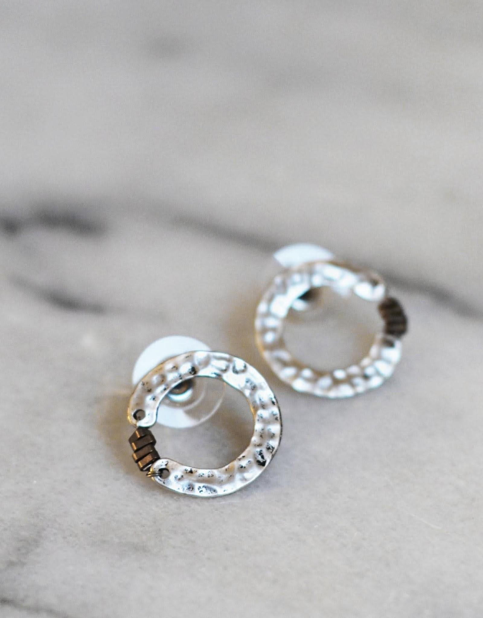 Cirkel petite  silver