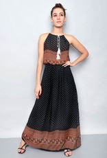 Etnic strap dress