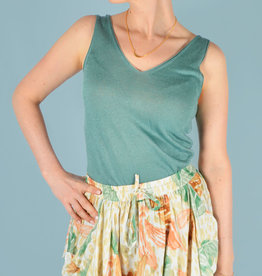 Knitted top green one size