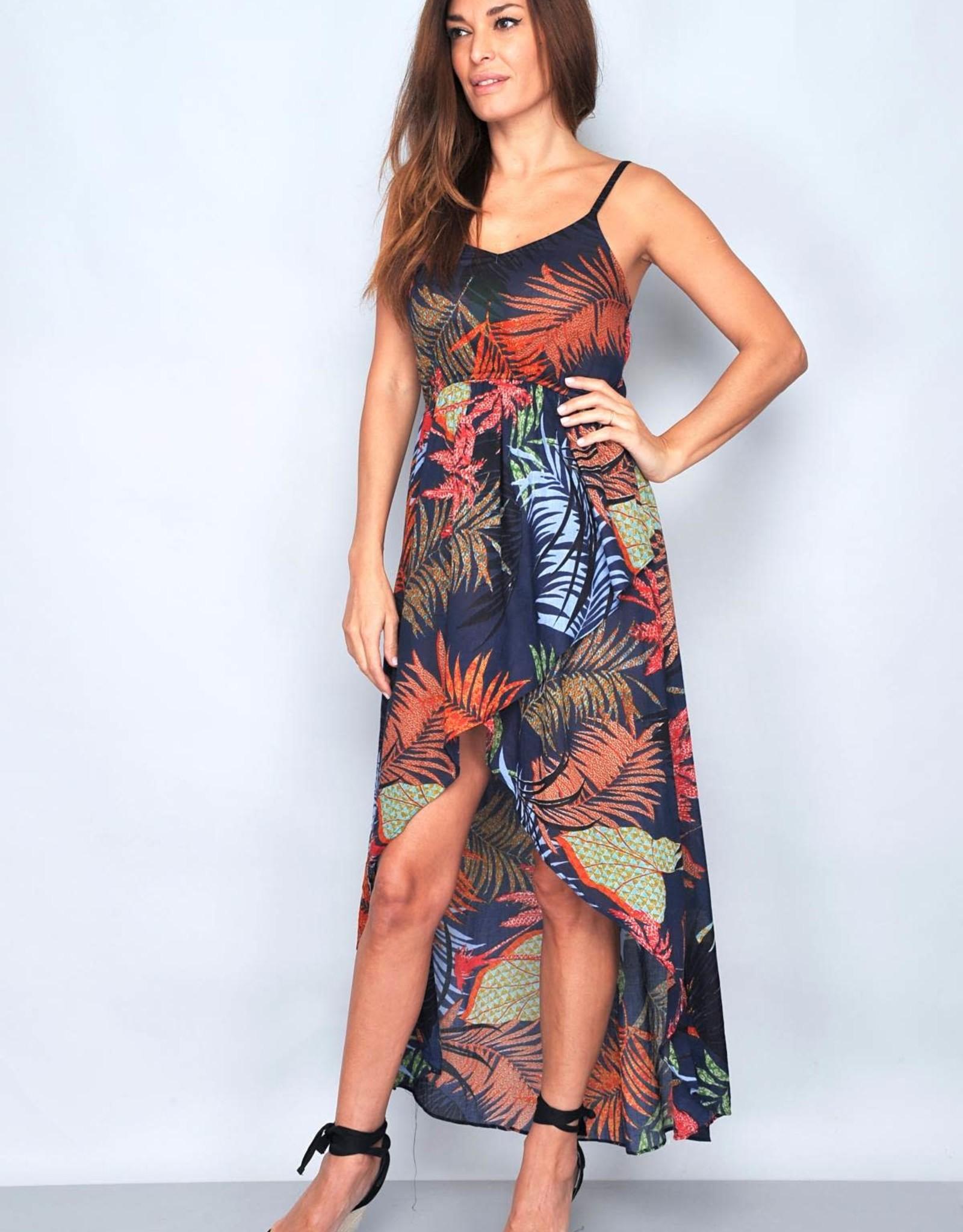 Nighty jungle maxi dress