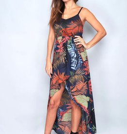 Nighty jungle maxi dress