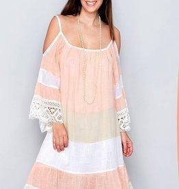 Sunset lace dress