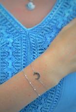 Nighty bracelet silver