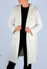 Fur coat white