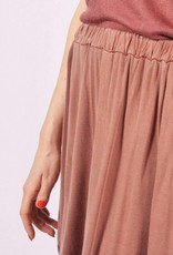 Washed skirt pink