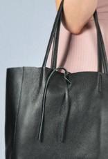 shopper met lintje black
