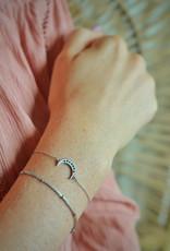 Silver dot bracelet