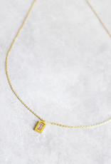 Spark pink necklace