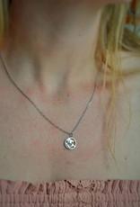 Globo necklace silver
