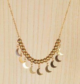 Bolas lunas necklace