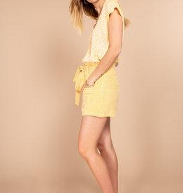 Lola top yellow