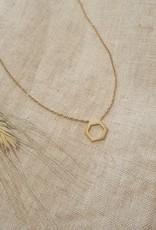 Hexagone necklace