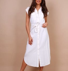 White cool dress