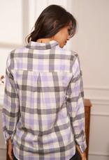 Lila autumn shirt