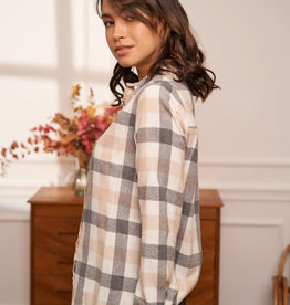 Nude autumn shirt