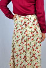 Floral skirt white