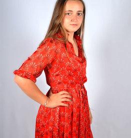 Red fire dress