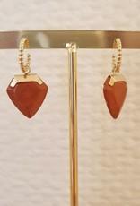 Shark terra earrings