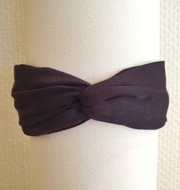 Haarband black shiny