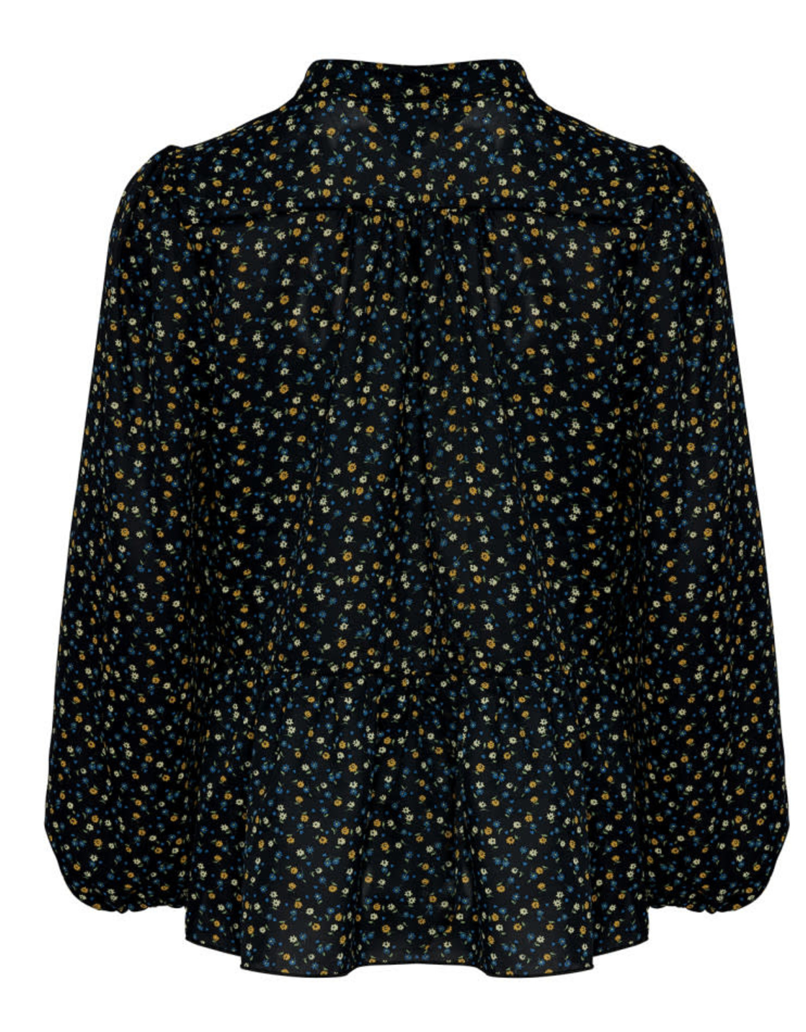 Rose terra/blue blouse