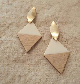 Wooden piramides