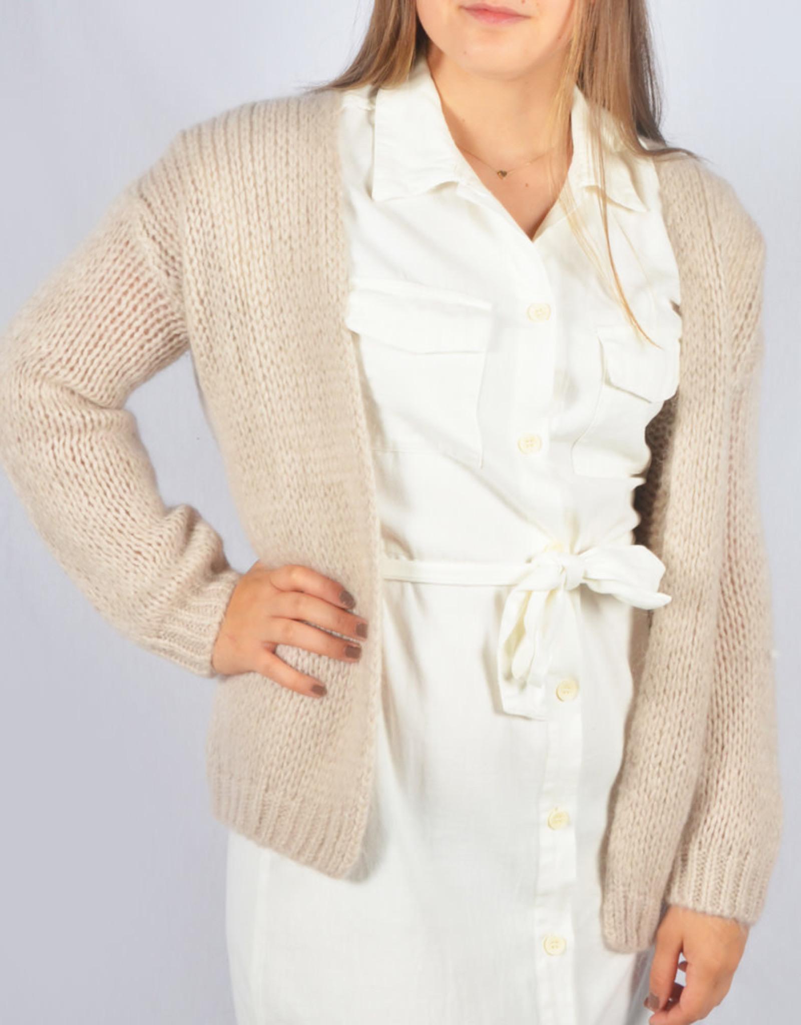 Bernadette beige one size