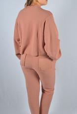 Homewear washed pink pants