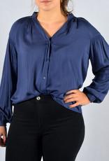 Blue blouse boho