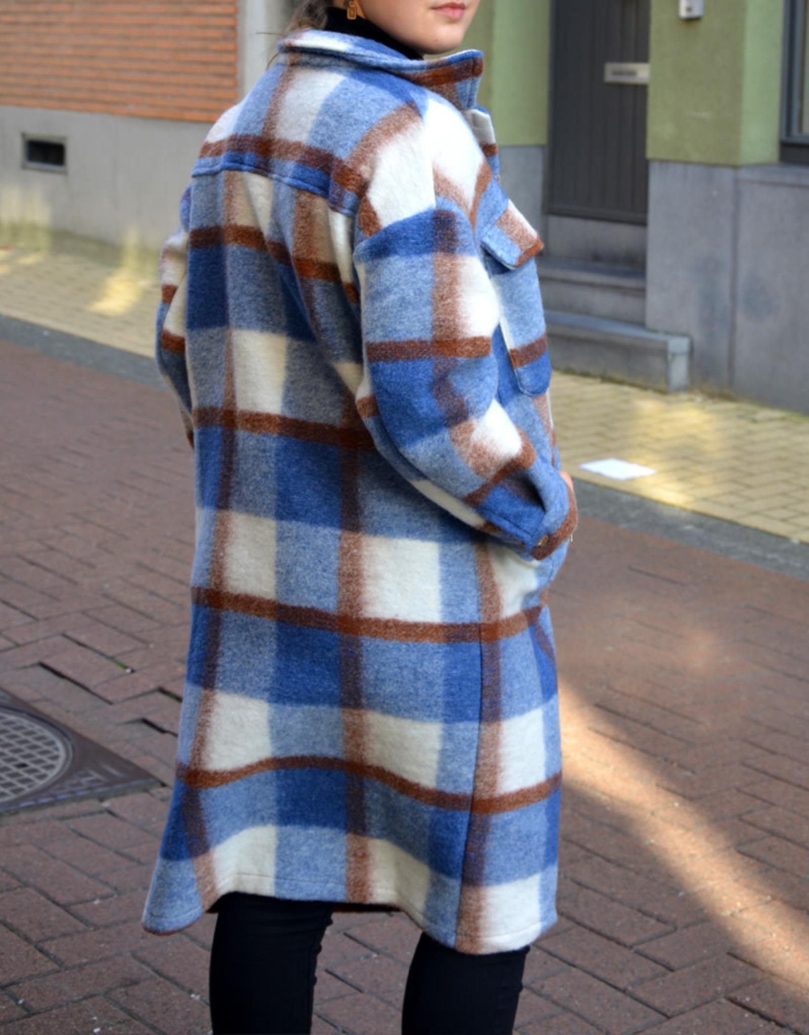 Astrid jacket blue one size