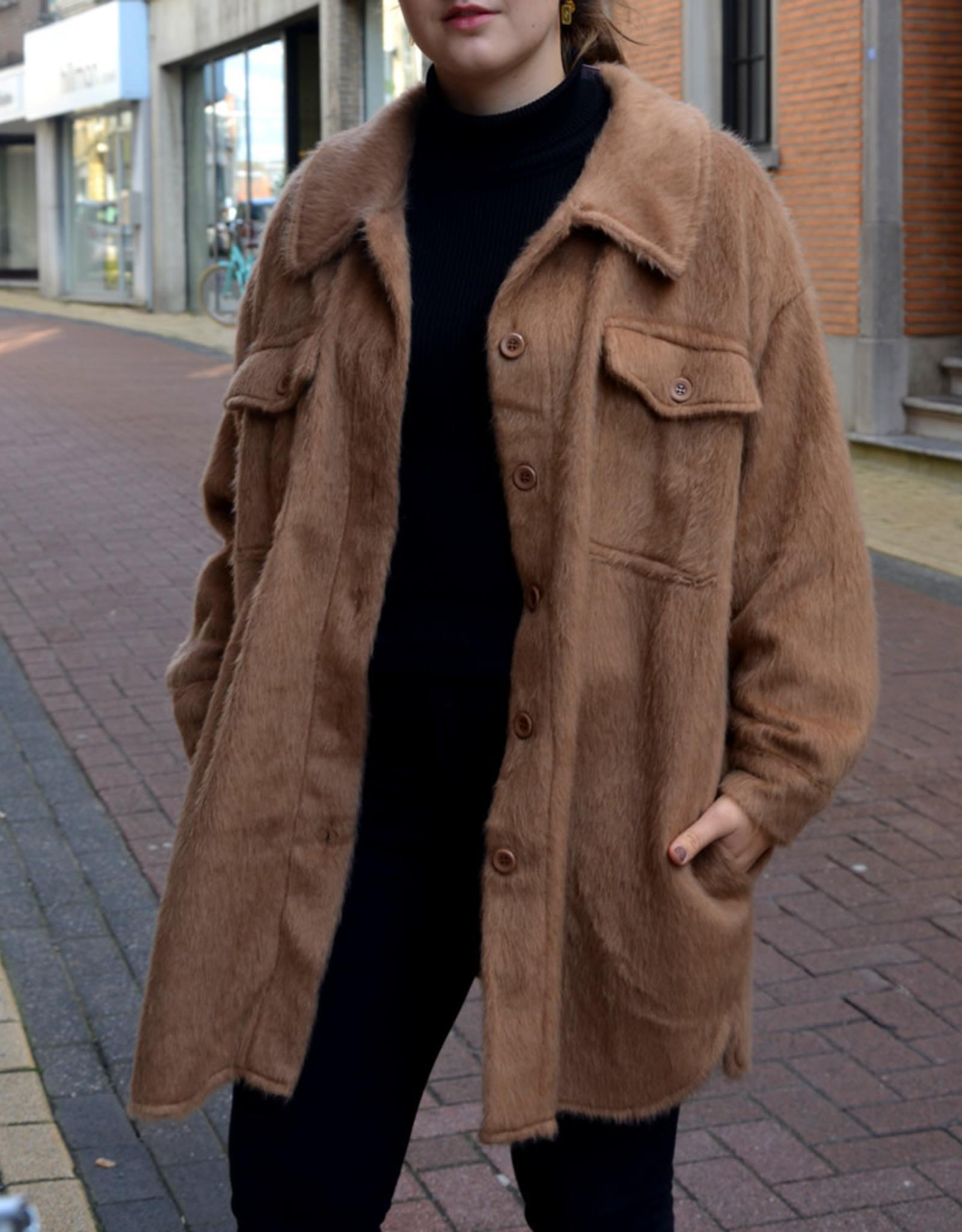 Soft jacket brown