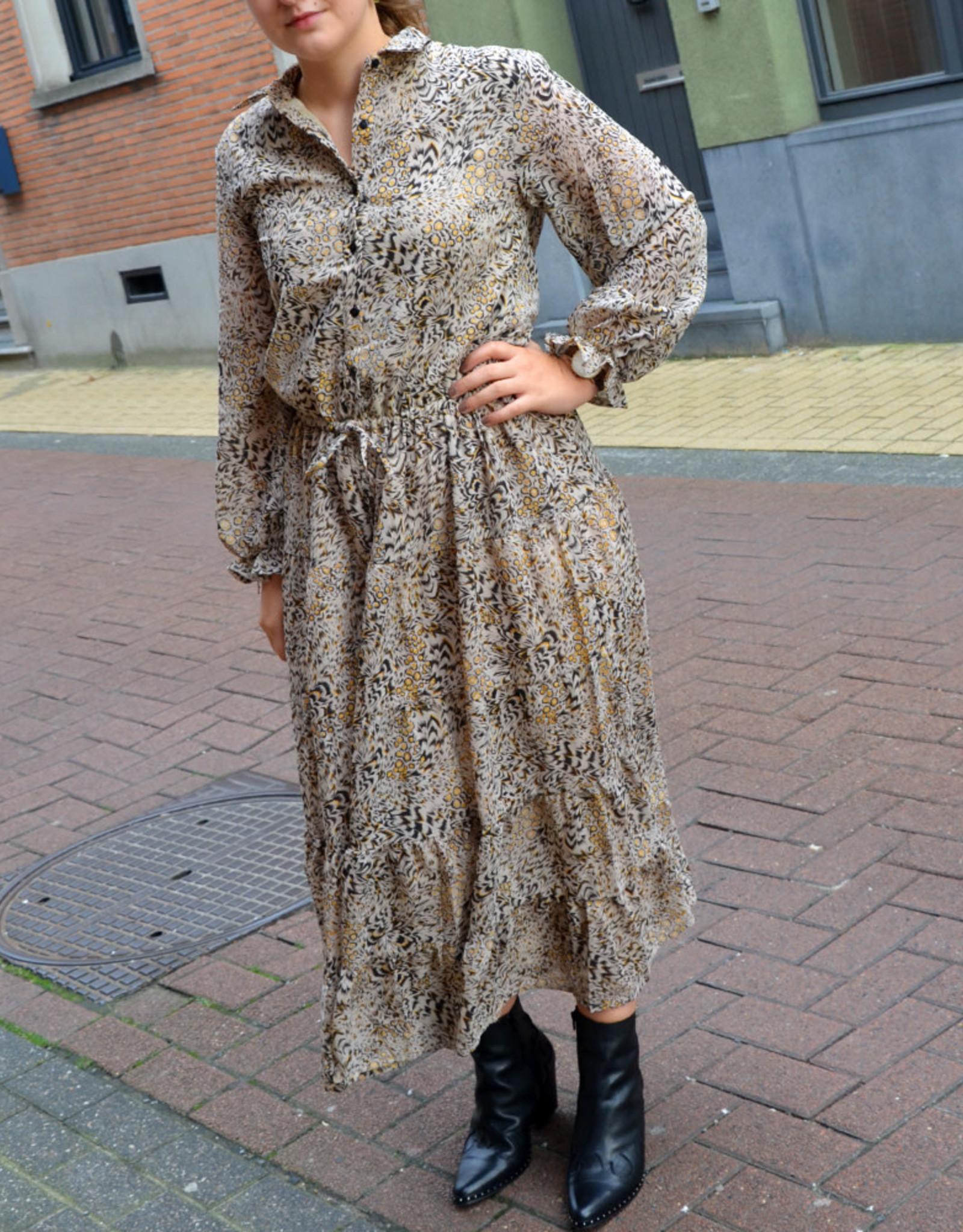 Selva brown dress