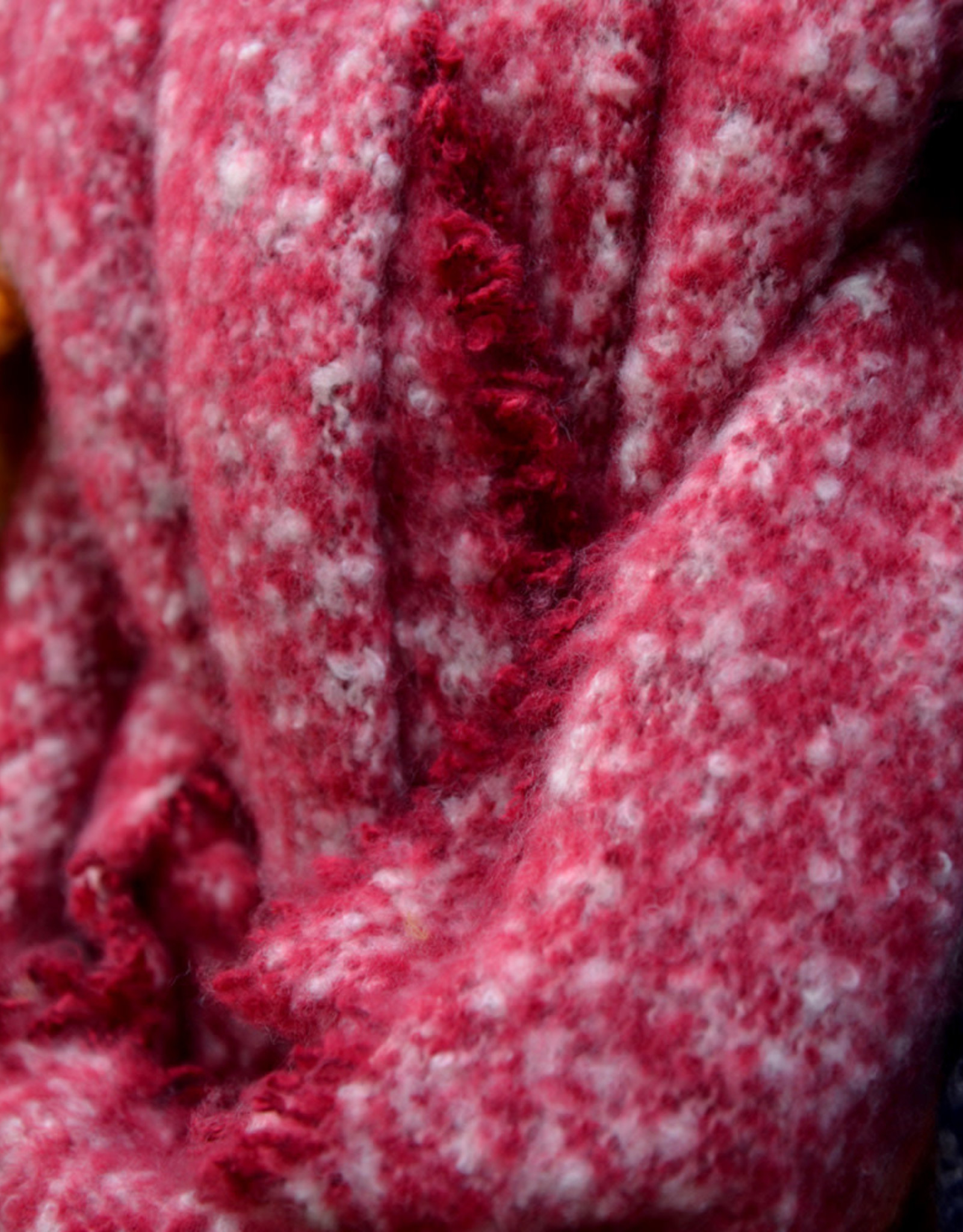 Scarf winter red