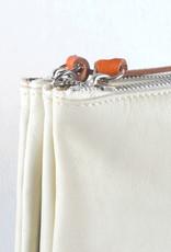 Heart bag white