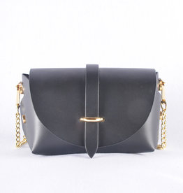 Mini bag gold black