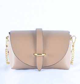 Mini bag gold taupe
